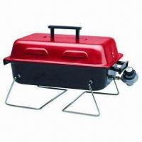 China Portable BBQ Grill with Foldable Legs, Built-in Gas Grill Replacement Parts on sale
