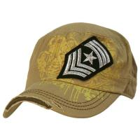 Quality Cotton Camouflage Color Sports Military Baseball Caps , Six Panel Army Hats For Men wholesale