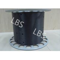 Quality Aluminium Winch Drums with Lebus Grooved Sleeves On Aircraft Application Lifting wholesale
