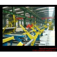 Quality SAW Motorized Moving H Beam Welding Machine With Single Welding Arm 200 - 800mm Flange wholesale