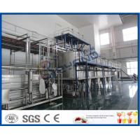 Quality PLC Control Beverage Production Line For Tea beverage Manufacturing Industry wholesale