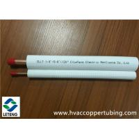China Plastic Coated Copper Tubing , Air Conditioner Units Plastic Covered Copper Pipe  on sale