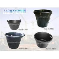 Quality Rubber bucket,recycled rubber pail,flexible rubber container,cement pail,rubber tub wholesale