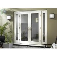 China Thermal Break Outward Opening Exterior Door Weather Resistant For Shopping Malls on sale