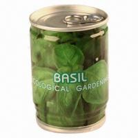 Quality Christmas Gift/Basil/Novelty Plant, Made of Tinplate, Growing Medium and Seeds  wholesale