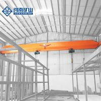 China 10 Ton Remote Control Single Girder Overhead Crane Warehouse Use Durable on sale