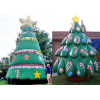 China Residential Inflatable Holiday Decor Inflatable Christmas Tree For Celebration on sale