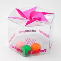 Quality PVC gift packaging boxes clear favor box wholesale