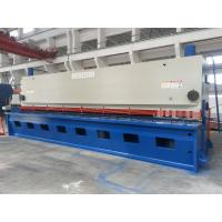 Buy cheap NC Hydraulic Guillotine Steel Cutting Machine / Guillotine Metal Shear from wholesalers
