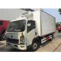 Quality Light Refrigerated Trucks And Vans , Environmental Reefer Box Truck wholesale