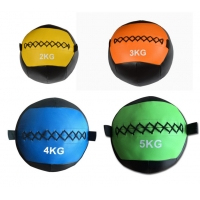 China soft PVC medicine wall ball, soft medicine ball with handles, Fitness soft PU medicine ball on sale