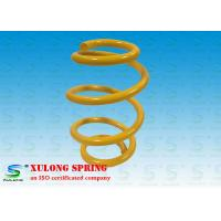 Quality OEM Yellow Barrel Custom Automotive Coil Springs , Car Suspension Springs wholesale