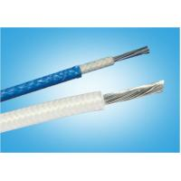 China VDE HO5SJ-K Fiber Glass Braid Heat Resisting Silicone Rubber Insulation Wire/Cable on sale
