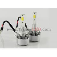 Quality 12V - 24V COB LED Headlight 30W H7 - 4000 Lumen Waterproof Super bright wholesale