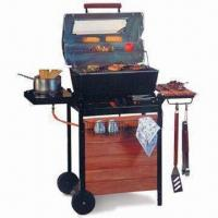 China Deluxe Die-cast Aluminum Two Burner Gas Barbecue Grill, Available with Side Burner on sale