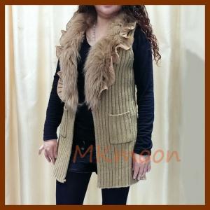 China rabbit fur sweater sw210# on sale