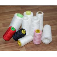Quality Z / S Twist Polyester Textured Yarn Raw White Yarn With Paper / Plastic Cone wholesale