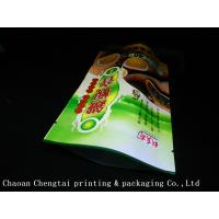 Quality High Barrier Stand Up Tea Packaging Pouches With Metallic Eco Friendly Material wholesale