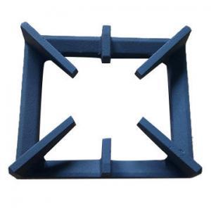 Quality Green Sand Casting Kitchen Cast Iron Stove Grates / Gas Stove Cast Iron Burner Grates wholesale