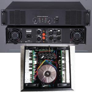 China Class H circuit 3U size power amp 2200W*2/4ohm 1500W*2/8ohm high power amplifier HI-FI stereo amplifier on sale