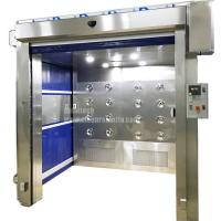 China Rapid speed Shutter Door Material Air shower China Cargo air shower on sale