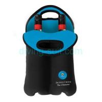 Quality Two/2 pack neoprene wine bottle cooler bag tote wholesale