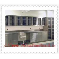 Quality Cutomized Stainless Steel Lab Desk  C  /  H Frame With Epoxy Resin Sink wholesale