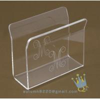 Quality acrylic napkin stand wholesale