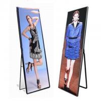 Quality Event Show Indoor Full Color LED Display Stand Poster Light Box 4500cd/㎡ Brightness wholesale