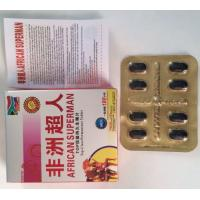 Quality 2900mg Male Enhancement Herbal Supplements Sex Pills Black Color For ED Improvement wholesale