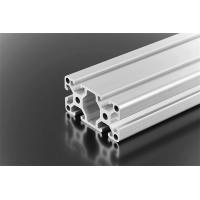 Quality Industrial Aluminium Alloy Profile , Silver Aluminium Window Frame Profiles wholesale