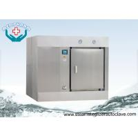 China Animal Care Horizontal Autoclave With Bio-shield Barrier Hermetically Seals on sale