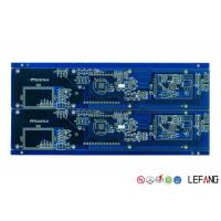 China Blue Solder Mask Fr4 Copper Clad Circuit Board , Timer PCB Board Lightweight on sale