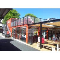 Quality Modern Style Container Coffee Shop , 20ft / 40ft Prefab Coffee Shop wholesale