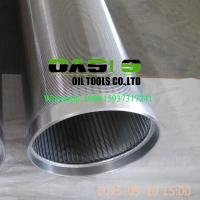 Stainless steel 304 johnson v wire water well screens for water well drilling