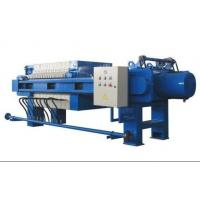 Quality Plate And Frame Filter Press Operation , Vertical Filter Press Hydraulic System wholesale