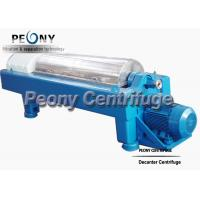 Quality PLC Control Decanter Centrifuge Calcium Hypochlorite Separation Machine wholesale