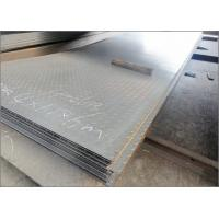 Quality Structural Mild Steel Diamond Metal Plate , Anti Slip ASTM Checkered Plate Steel wholesale