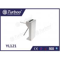 Cheap 304 Stainless Steel Electronic Turnstile Gates 35 Persons / Min Transit Speed for sale