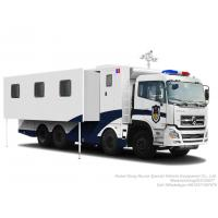 Quality Military Police Outdoor Camping Vehicle for  Outdoor Mobile Camping Truck With Living Room lodging van wholesale