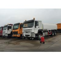 Quality SINOTRUK Internal Anti - Corrosion Construction Water Transport Trucks 18 - 25CBM wholesale
