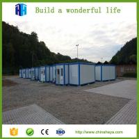 China insulation prefab steel container house new home construction on sale