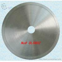 Quality Diamond Coated Continuous Rim Lapidary Saw Blade for Agate Jade Crystal and Glass - DLSB02 wholesale