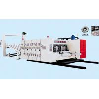 China PLC Control Flexo Printer Slotter Machine For Corrugated Box 2 Colors High Speed on sale