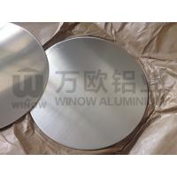 Quality Smooth Edge Round Aluminum Blanks / Aluminium Discs Circles For Cookwares / Lights wholesale