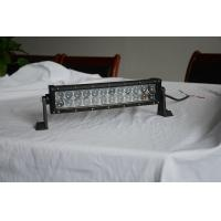 Quality 72W 13.5 inch Spot Flood Combo Vehicle  LED Light Bar Boat Jeep Lamp 3 years warranty wholesale