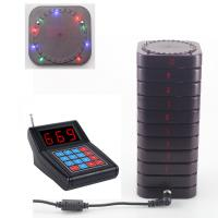 Quality New arrival light flashing wireless guest pager system wholesale