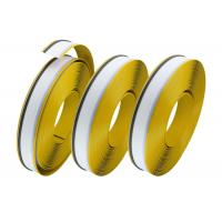 Quality Yellow Color Painting Aluminum Trim Cap Grade A With One Side Edge Return Side wholesale
