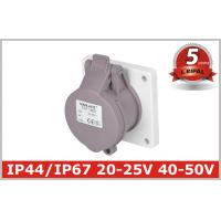 Quality IP44 2P,3P 16A,32A Indoor  Industrial Power Socket / Single PhaseOutlets /Low-voltage panel mounted socket wholesale