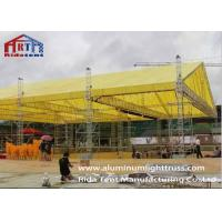 Portable Stage Aluminum Light Spigot Truss For Trade Show / Ceremony